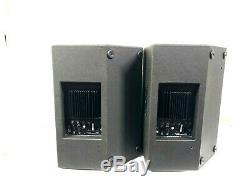 Ev/electrovoice Sxa250 15 2-way Full Range Powered Pa Speakers #9552 (pair)