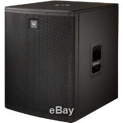 Ex Demo Electro Voice ELX118P Active Powered Subwoofers 18 PAIR Mobile DJ Disco