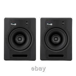 Fluid Audio FX8 130-Watt 8-Inch Coaxial Active Powered Studio Monitor, Pair