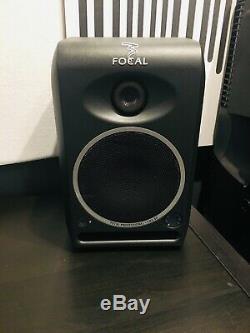 Focal CMS 50 (Pair) Powered Active Studio Monitors, 5 Driver, 1 Tweeter, 130w
