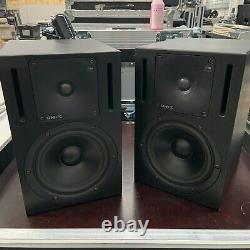 Genelec 1030A Active Pair Studio Monitors Powered Broadcast Reference Speakers