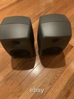Genelec 8030A Monitor Speaker Pair with Power Cable