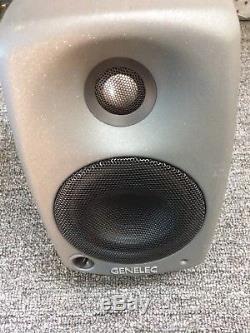 Genelec Studio Monitors 8020C Pair Powered Monitors Bi Amped Monitors. Pair