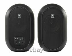 JBL 104SET-BT Pair Compact Powered Active Studio Reference Monitors Bluetooth