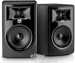 JBL 305P MkII Pair 5 Powered Studio Monitor 82W 2-way Studio Reference Speakers