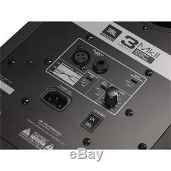JBL 306P MkII Powered 2-Way Studio Monitor Speakers 110 240 V PAIR Demo Mint