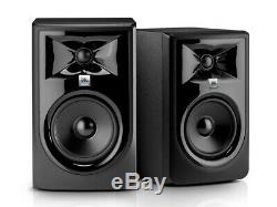 JBL 306P MkII Powered Studio Monitor Speakers MK2 (Pair) NEW IN BOX
