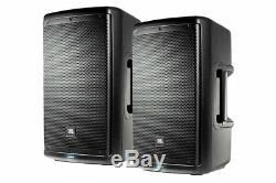 JBL EON610 10 1000W 2-way Multipurpose Self-powered PA Speaker (Pair) New