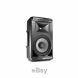 JBL EON610 Pair 2-Way Active Powered PA Speakers + Stands, Stand Bag & Cables