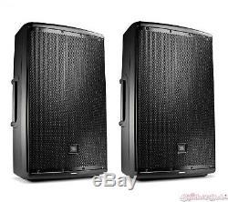 JBL EON615 15 Self Powered Active PA Loud Speaker Pair