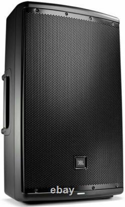 JBL EON615/230 Loudspeaker Powered Monitor Speaker Pair Black, Bluetooth