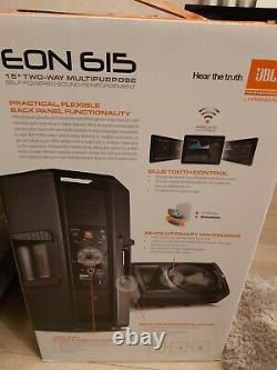 JBL EON 615 15 1000W pair Active Powered DJ PA Speaker Bluetooth EQ Control x2