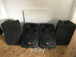 JBL EON G2 15 INCH ACTIVE POWERED PA SPEAKERS (PAIR) Inc. OFFICIAL JBL COVERS