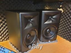 JBL LSR308 8 Two-Way Powered Active Studio Monitors Speakers (Pair)