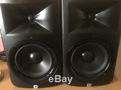 JBL LSR308 8 Two-Way Powered Studio Monitors (Pair)