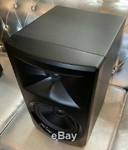 JBL LSR308 8 Two-Way Powered Studio Monitors (Pair) with Boxes