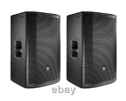 JBL PRX815W 15 1500W Powered Spkr Act Monitor in Wood Cabinet WithWi-Fi (PAIR)