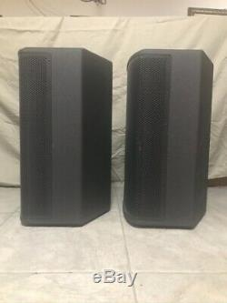 JBL PRX 512M Powered Speakers (Pair) with Integrated Crown Amplifier