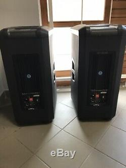 JBL PRX 515 Active Powered Speaker PAIR with Crown (Class D) Amplifier