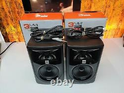 JBL Professional 305P MKII Powered 5 Two-Way Studio Monitor Pair Mint