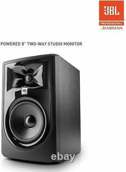 JBL Professional 305P MkII 5-Inch 2-Way Powered Studio Monitor Pair