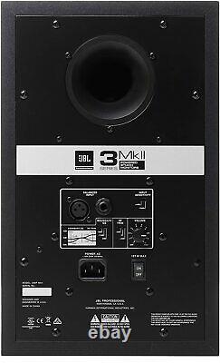 JBL Professional 306P MkII Next-Generation 6 2-Way Powered Studio Monitor Pair