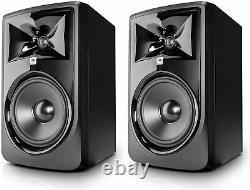 JBL Professional 308P MkII Next-Generation 8 2-Way Powered Studio Monitor -Pair