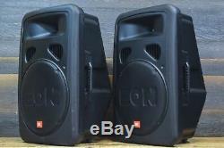 JBL Professional EON15 G2 Bi-Amplified 300W 15 Driver Powered Speakers (Pair)