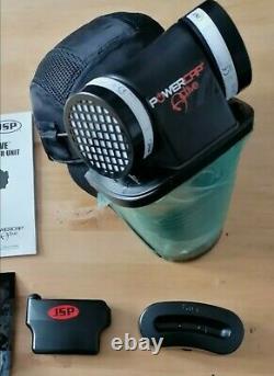 JSP CAE602941100 Powercap Active IP Powered Respirator + 1 FREE pair of filters