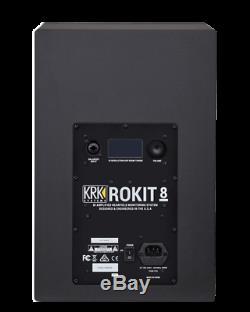 KRK ROKIT 8 Powered Near-Field Studio Monitors ROKIT 8 G4 Pair