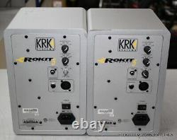 KRK RP5G3 Rokit 5 5'' Powered Active Studio Monitor, Silver (PAIR)
