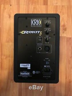 KRK RP5G3 Rokit 5 Generation 3 Powered Studio Monitor Black(Pair)