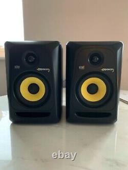 KRK RP5 Rokit G3 Studio Monitors (Pair) + power cables & original boxes