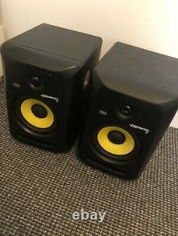 KRK RP6G3-NA Rokit 6 Generation 3 Powered Studio Monitor pair