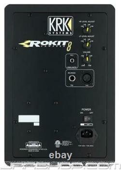 KRK RP8G3 Rokit 8 Powered Monitor (Pair) New JRR Shop