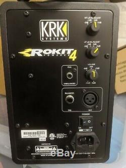 KRK Rokit 4 Powered Studio Monitor Black (Pair)