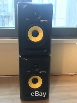 KRK Rokit 5 Active Studio Monitor Speaker Pair With Aux Cable And Power Cables