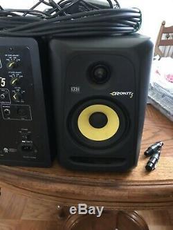 KRK Rokit 5 CL5G3 5 Classic Powered Active Studio Monitor Speaker Pair