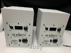 KRK Rokit 5 G3 Powered Studio Monitor White (Pair) G456