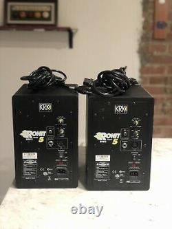 KRK Rokit 5 RPG2 Powered Studio Monitor Black (Pair)
