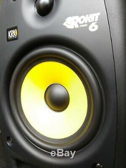 KRK Rokit 6 RP6G2 (Gen 2) 6 Powered Studio Monitor Speaker Pair