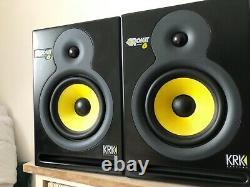KRK Rokit 6 powered monitor studio speakers 140w pair