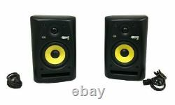 KRK Rokit Powered 5 RPG2 5 Active Studio Monitor Speakers (Pair of 2) Black