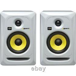 KRK Rokit RP5 G3 Powered Active Studio DJ Monitor Speakers Pair White Mint con