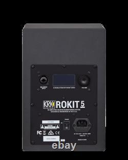 KRK Rokit RP5 G4 Professional Active Powered 5 DJ Studio Monitor Speaker (Pair)