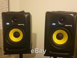 KRK Rokit RP6 G3 Pair Professional Active Powered DJ Studio Reference Monitors