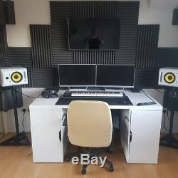 KRK Rokit RP6 G3 White Active Powered Reference Studio Monitors PAIR