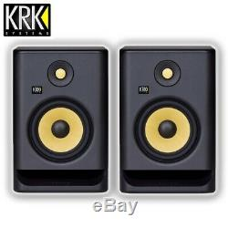 KRK Rokit RP7 G4 Professional Active Powered 5 DJ Studio Monitor Speaker (Pair)