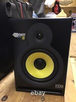 KRK Rokit RP8 G2 Professional Active Powered 8 DJ Studio Monitor Speaker (Pair)