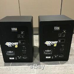 KRK Rokit RP8 G2 / Rokit 8 G2 Pair Of Powered Monitors